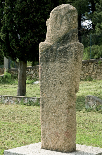 Statue-menhir  d'Appriciani.