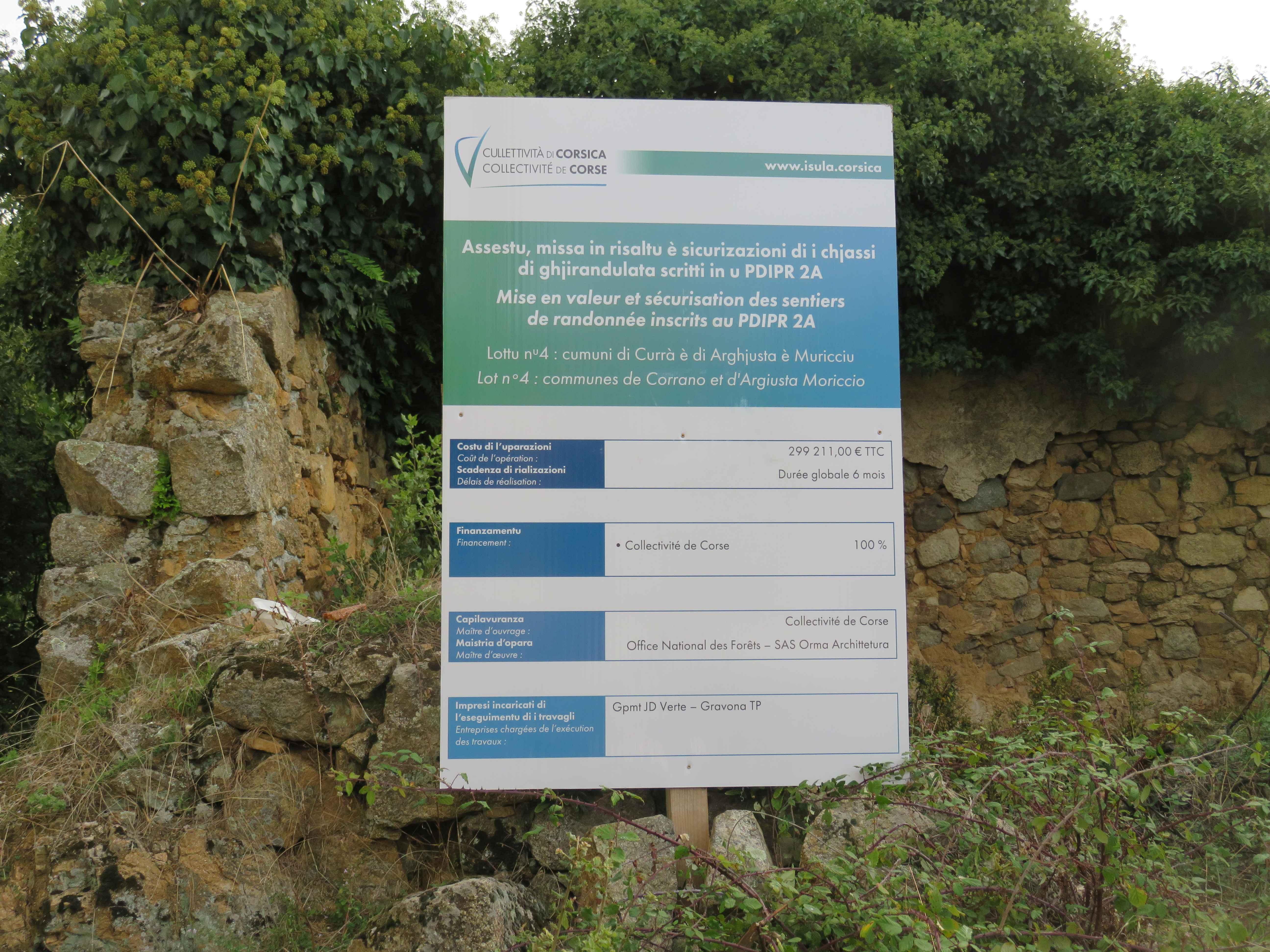 Programme de mise en valeur et de sécurisation des sentiers de randonnée