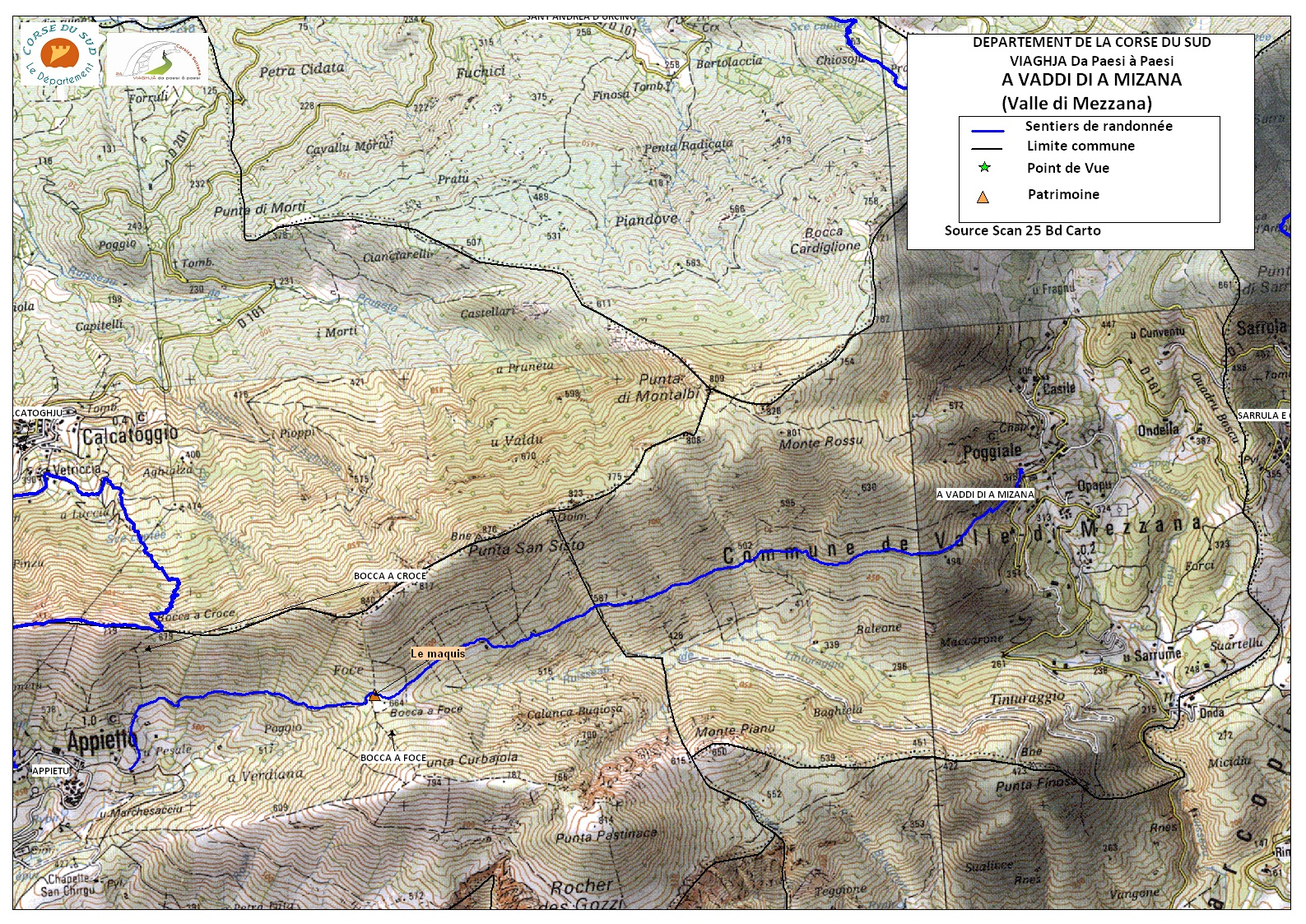 Valle-di-Mezzana (A Vaddi di a Mizana)