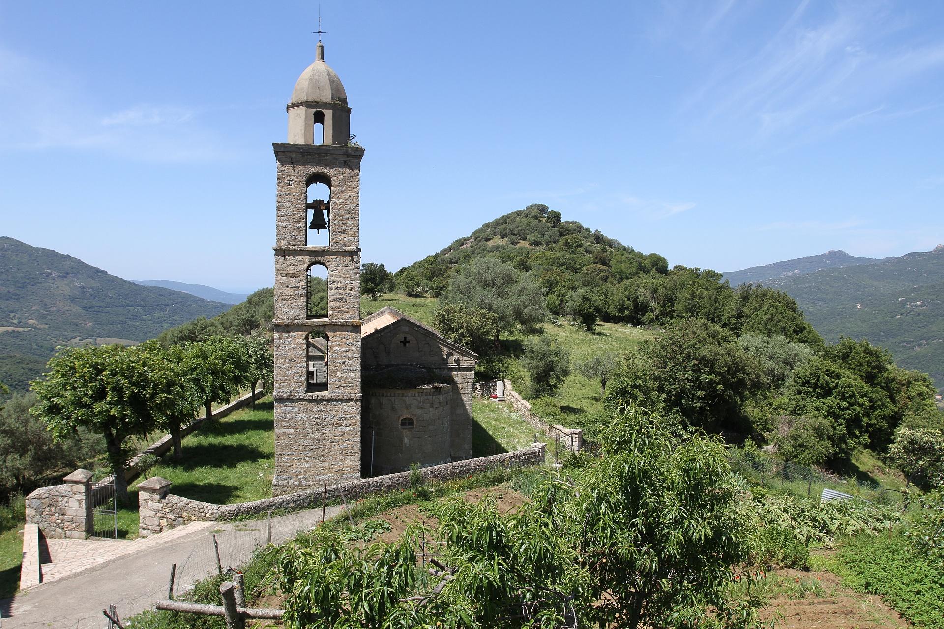 strada antica da a  rocca à l'alta rocca - Ulmetu / a Sarra di Scopamena