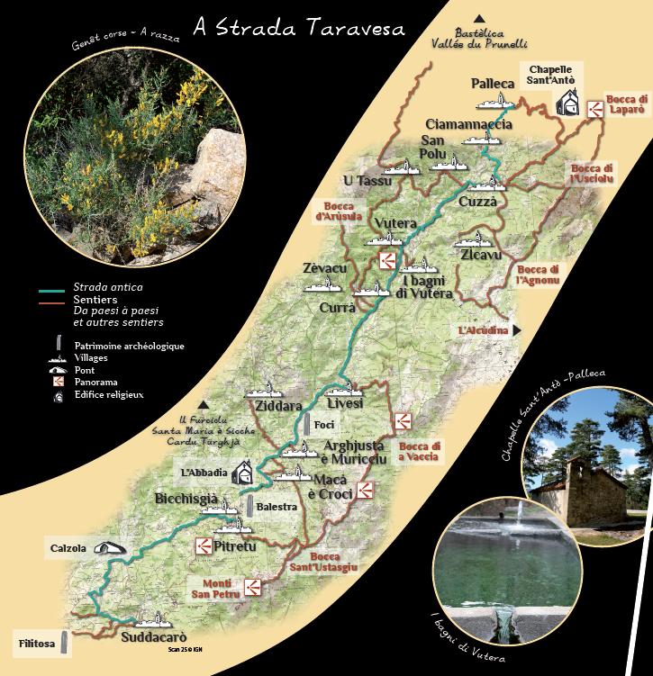 Strada Antica A Strada Taravesa - Sollacaro/Palneca